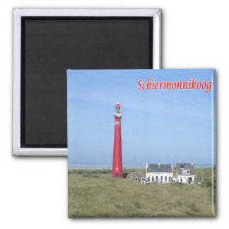 NL -Netherlands-Frisian Islands Schiermonnikoog Magnet