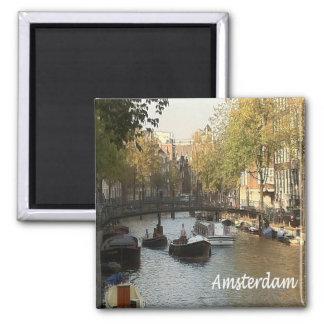 NL - Netherlands Oland - Amsterdam 2 Inch Square Magnet