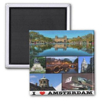 NL - Netherlands Oland - Amsterdam - Collage Magnet