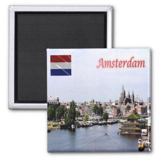 NL - Netherlands Oland - Amsterdam - Panorama Magnet