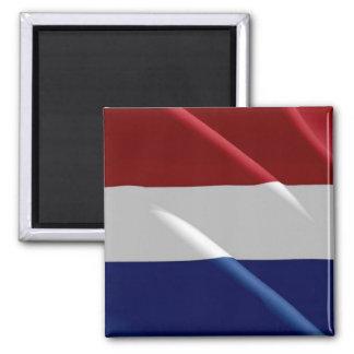 NL - Netherlands Oland - Waving Flag - Dutch Magnet