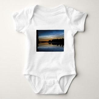 NLC Nattlysande clouds Baby Bodysuit