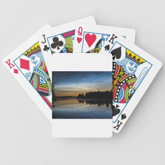 NLC Nattlysande clouds Bicycle Playing Cards