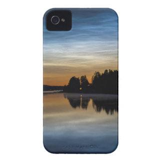 NLC Nattlysande clouds Case-Mate iPhone 4 Case