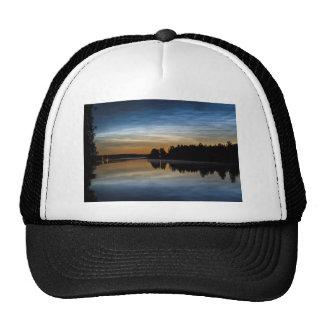 NLC Nattlysande clouds Trucker Hat