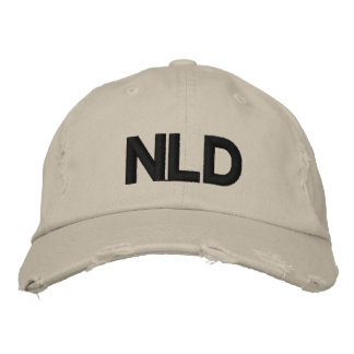 NLD cap Embroidered Baseball Caps
