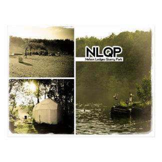 NLQP - Nelson Ledges Quarry Park Postcard