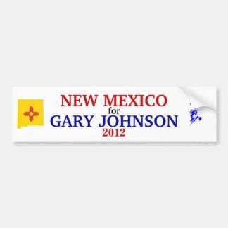 NM for Johnson 2012 sticker Car Bumper Sticker