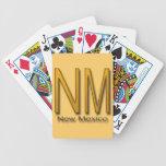 NM New Mexico gold Card Decks