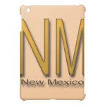 NM New Mexico gold Case For The iPad Mini