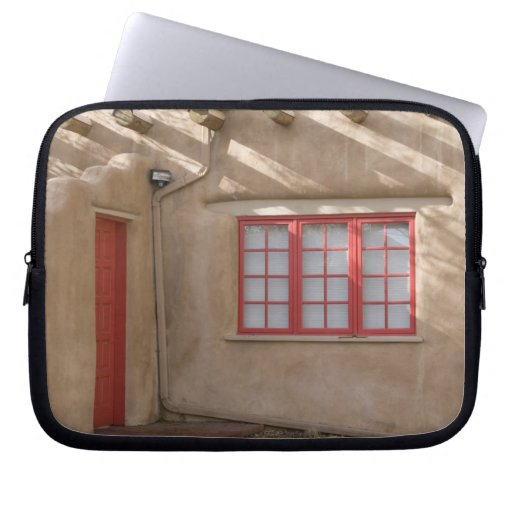 NM, New Mexico, Santa Fe, Canyon Road, legendary Laptop Sleeves