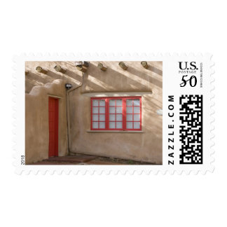NM, New Mexico, Santa Fe, Canyon Road, legendary Postage