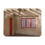 NM, New Mexico, Santa Fe, Canyon Road, legendary Rectangle Magnets