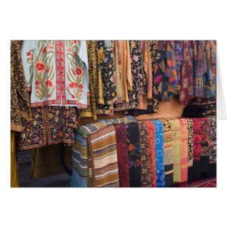 NM, New Mexico, Santa Fe, Navajo clothing, Card