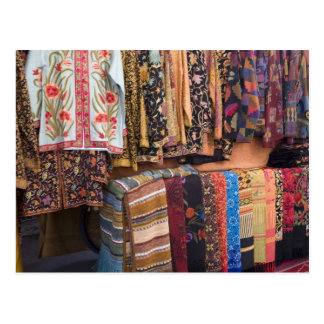 NM, New Mexico, Santa Fe, Navajo clothing, Postcard
