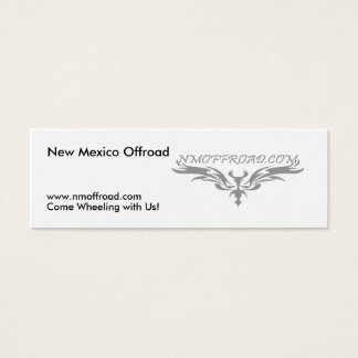 NM Offroad handout cards