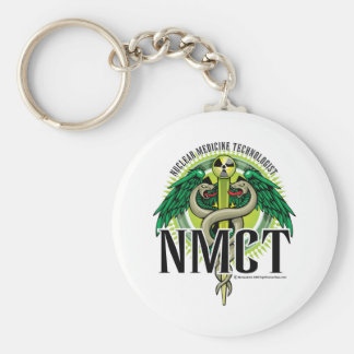 NMCT Caduceus Keychain