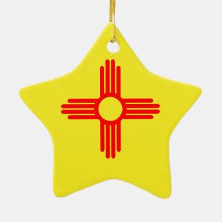 NMflag Ceramic Ornament