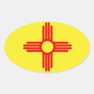 NMflag Oval Sticker