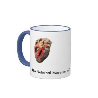 NMHM_Fetal.Skeletons, heart2, la musa nacional… Taza De Dos Colores