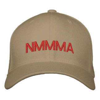 NMMMA EMBROIDERED BASEBALL CAP