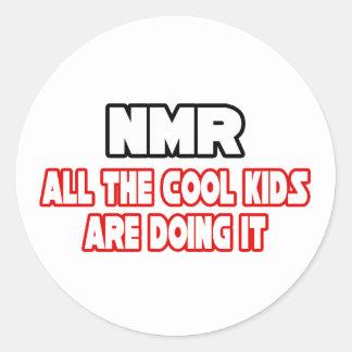 NMR...Cool Kids Classic Round Sticker