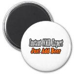 NMR Expert...Add Beer Refrigerator Magnets