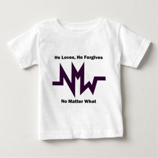 nmw he loves he forgives 1 tee shirt