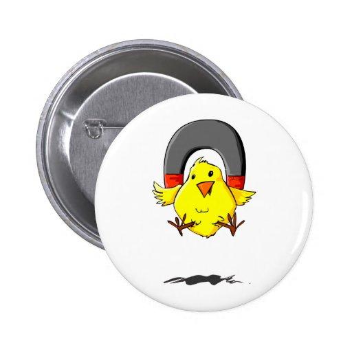 NN_Chick_magnet_Lt Pin Redondo De 2 Pulgadas