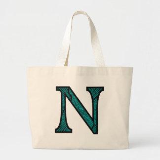 Nn Illuminated Monogram Jumbo Tote Bag