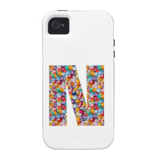 NNN Natural Gems n Pearls ALPHA for GIFT Vibe iPhone 4 Cases