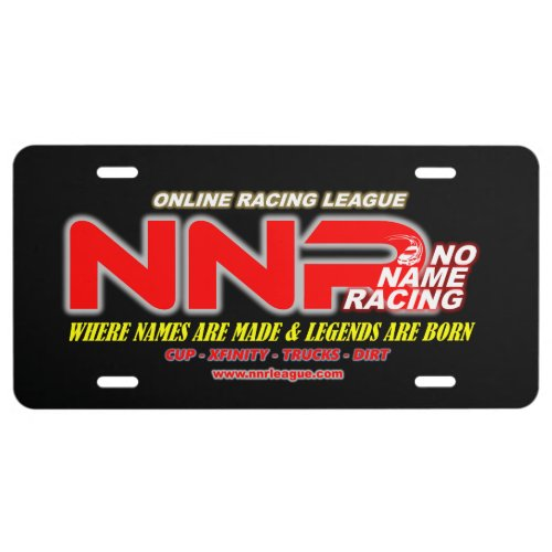 NNR License Plate 2020