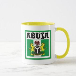 No1 Abuja, Nigeria map T-Shirt And Etc Mug