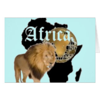 No1 African  T-shirt And Etc Greeting Card