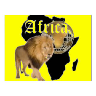 No1 African  T-shirt And Etc Post Card