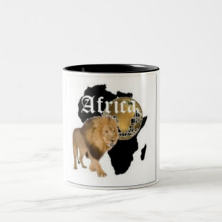 No1 African  T-shirt And Etc Two-Tone Coffee Mug