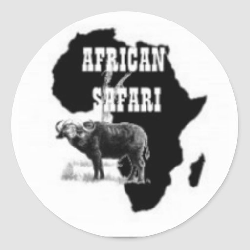 No1 African T-shirts , Hats And Etc Classic Round Sticker