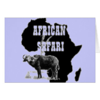 No1 African T-shirts , Hats And Etc Greeting Card