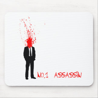 No1 Assasin - NMH Game Gamer Video Games Gaming Mouse Pad
