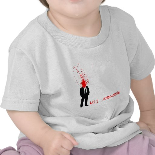 No1 assasin t-shirts