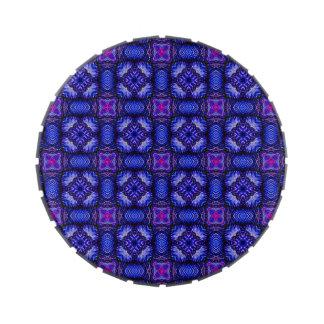 No1 comprobado purpel rosado azul del modelo de la frascos de dulces