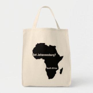 No1 Johannesburg, camiseta de Suráfrica y etc Bolsa Lienzo