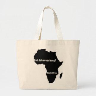 No1 Johannesburg, camiseta de Suráfrica y etc Bolsas Lienzo