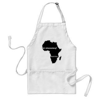 No1 Johannesburg, camiseta de Suráfrica y etc Delantal