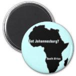 No1 Johannesburg, camiseta de Suráfrica y etc Imán
