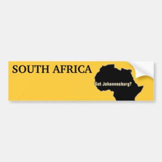 No1 Johannesburg, camiseta de Suráfrica y etc Pegatina Para Auto