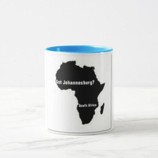 No1 Johannesburg, camiseta de Suráfrica y etc Taza