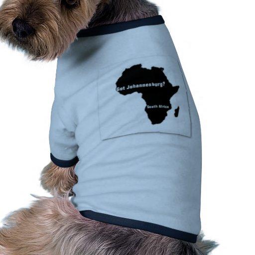 No1 Johannesburg,South Africa  T-shirt And Etc Dog T-shirt
