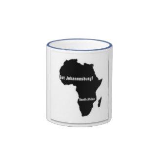 No1 Johannesburg,South Africa  T-shirt And Etc Ringer Mug