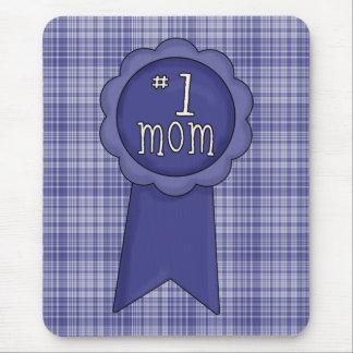 No1_mom_ribbon Mouse Pad